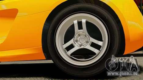 Audi R8 Spyder für GTA 4 Rückansicht