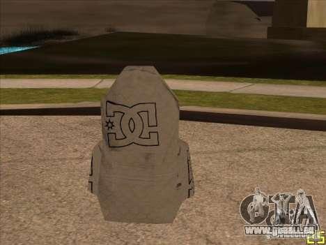 Fallschirm-DC für GTA San Andreas zweiten Screenshot