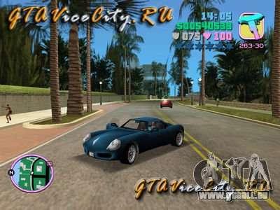 Porshe von GTA 3 für GTA Vice City