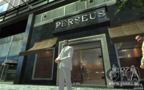 Grand costume gris-blanc pour GTA 4 quatrième écran