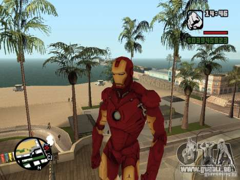 Iron man 2 für GTA San Andreas