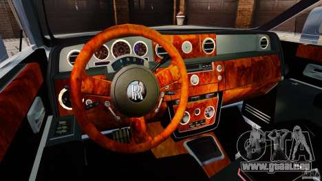 Rolls-Royce Ghost 2012 pour GTA 4 Vue arrière
