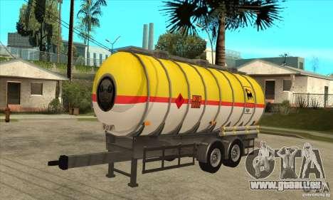 Trailer Tunk für GTA San Andreas