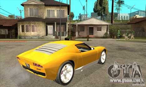 Lamborghini Miura Concept 2006 für GTA San Andreas rechten Ansicht