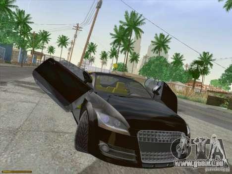 Audi TT Custom für GTA San Andreas linke Ansicht