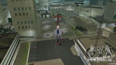 Eurocopter As-350 TV Neptun pour GTA Vice City vue latérale
