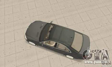 Mercedes-Benz S500 (w221) 2006 pour GTA San Andreas sur la vue arrière gauche