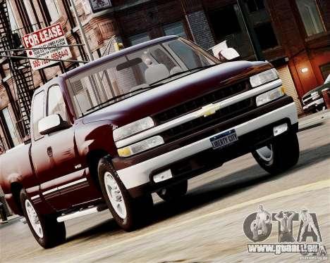 Chevrolet Silverado 1500 2000 pour GTA 4 Vue arrière de la gauche