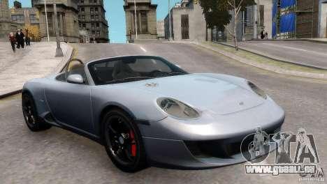 RUF RK Spyder 2006 [EPM] für GTA 4 rechte Ansicht