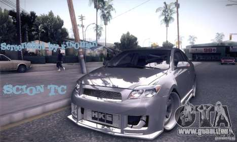 Scion Tc Street Tuning für GTA San Andreas