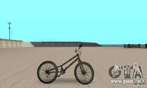 Trial bike pour GTA San Andreas sur la vue arrière gauche