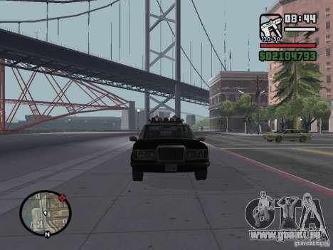 Admiral SFPD für GTA San Andreas rechten Ansicht