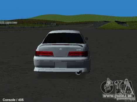 Toyota Mark II 100 1JZ-GTE pour GTA San Andreas laissé vue