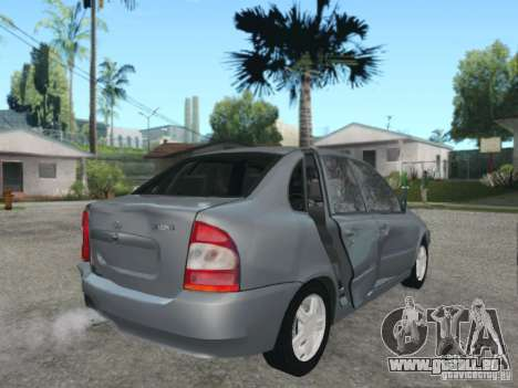 LADA Kalina Limousine für GTA San Andreas Unteransicht