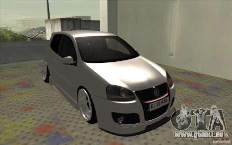 Volkswagen Golf Mk5 für GTA San Andreas linke Ansicht