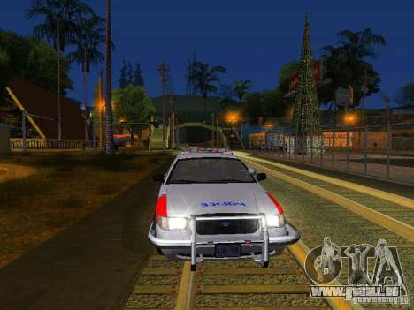 Ford Crown Victoria Police Patrol pour GTA San Andreas salon