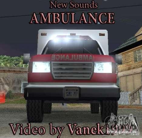 Neue Notrufsignal für GTA San Andreas