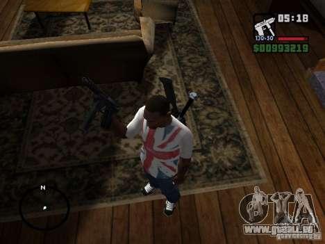 Tec9 HD für GTA San Andreas zweiten Screenshot