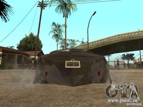 Thunderbold SlapJack für GTA San Andreas rechten Ansicht