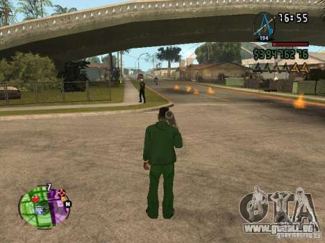 Asssassin Creed Style pour GTA San Andreas