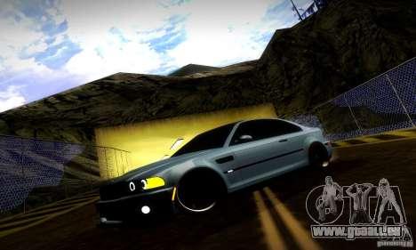 BMW M3 JDM Tuning pour GTA San Andreas moteur