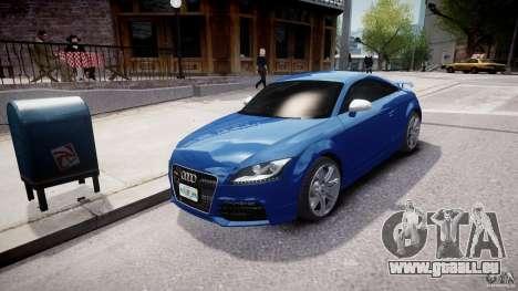 Audi TT RS Coupe v1 pour GTA 4 Vue arrière
