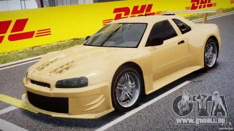 Nissan Skyline R34 v1.0 für GTA 4