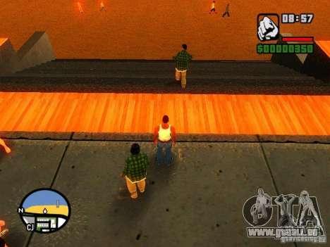 Textures de East Beach pour GTA San Andreas