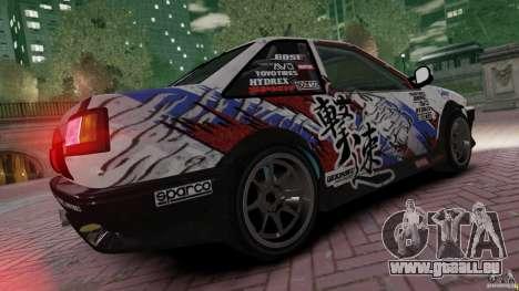 Toyota Corolla GT-S AE86 für GTA 4 linke Ansicht