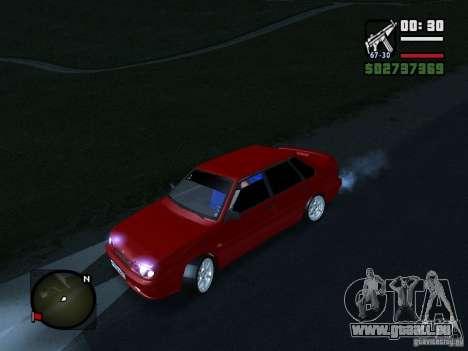 VAZ 2115 FYR Beta für GTA San Andreas zurück linke Ansicht