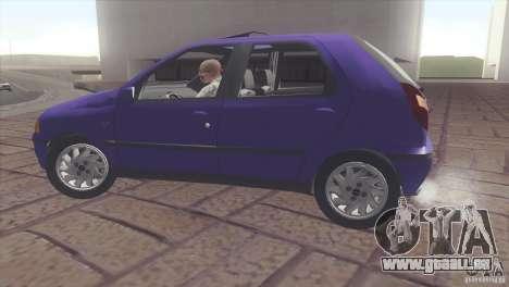 Fiat Palio 16v pour GTA San Andreas vue de droite