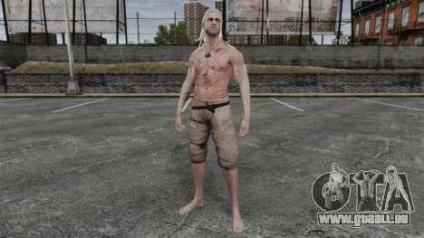 Geralt de Rivia v5 pour GTA 4