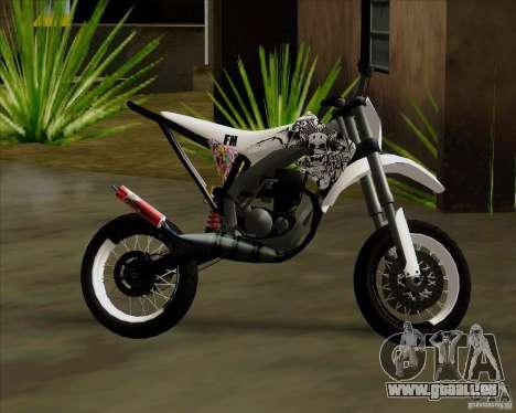 Honda 50 Tuned Stunt für GTA San Andreas rechten Ansicht
