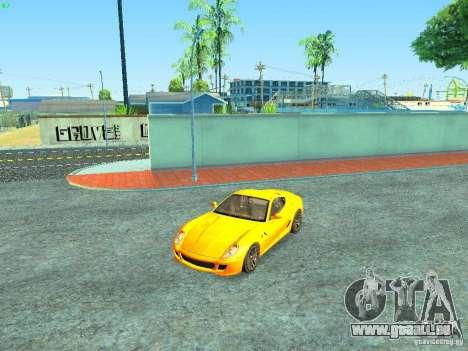 Ferrari 599 GTB pour GTA San Andreas moteur