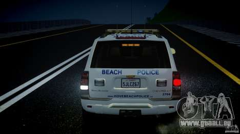 Chevrolet Trailblazer Police V1.5PD [ELS] pour GTA 4 roues