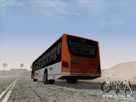 Design X4 pour GTA San Andreas sur la vue arrière gauche