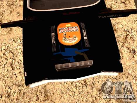 Plymoth Road Runner für GTA San Andreas linke Ansicht