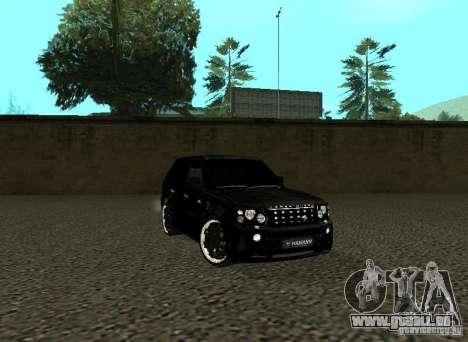 Land Rover Range Rover Sport Hamann pour GTA San Andreas laissé vue