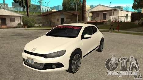 Volkswagen Scirocco 2009 pour GTA San Andreas