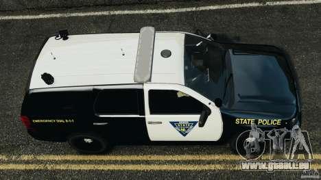 Chevrolet Tahoe Marked Unit [ELS] für GTA 4 rechte Ansicht