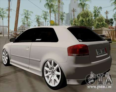 Audi S3 V.I.P für GTA San Andreas linke Ansicht