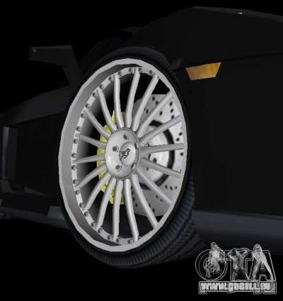 Lamborghini Gallardo Hamann Tuning pour GTA Vice City vue arrière
