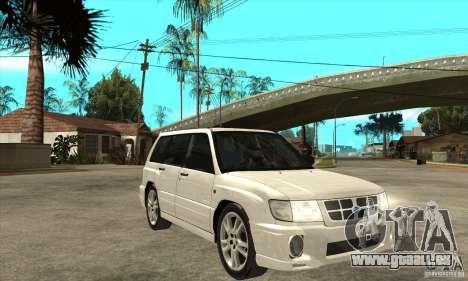 Subaru Forester pour GTA San Andreas vue arrière