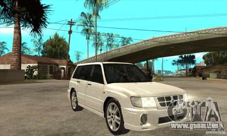 Subaru Forester für GTA San Andreas Rückansicht