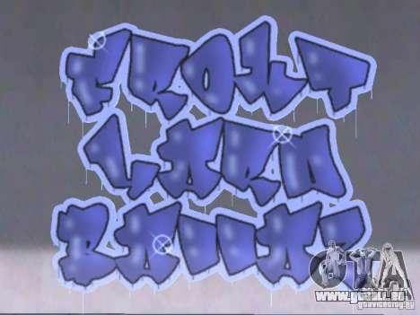 New LS gang tags pour GTA San Andreas deuxième écran