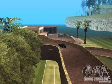 Manoir de l'île pour GTA San Andreas troisième écran