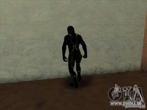 Un personnage du jeu Tron : Evolution pour GTA San Andreas deuxième écran
