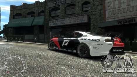 Toyota Supra Fredric Aasbo für GTA 4 hinten links Ansicht