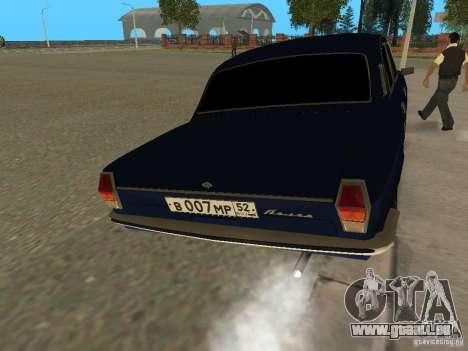 Volga GAZ 24-10 pour GTA San Andreas vue de droite