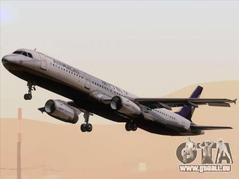 Airbus A321 Air Macau für GTA San Andreas Innenansicht